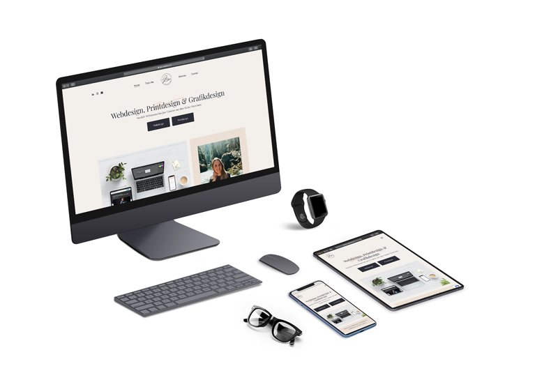 responsive Webdesign | Jess Creation