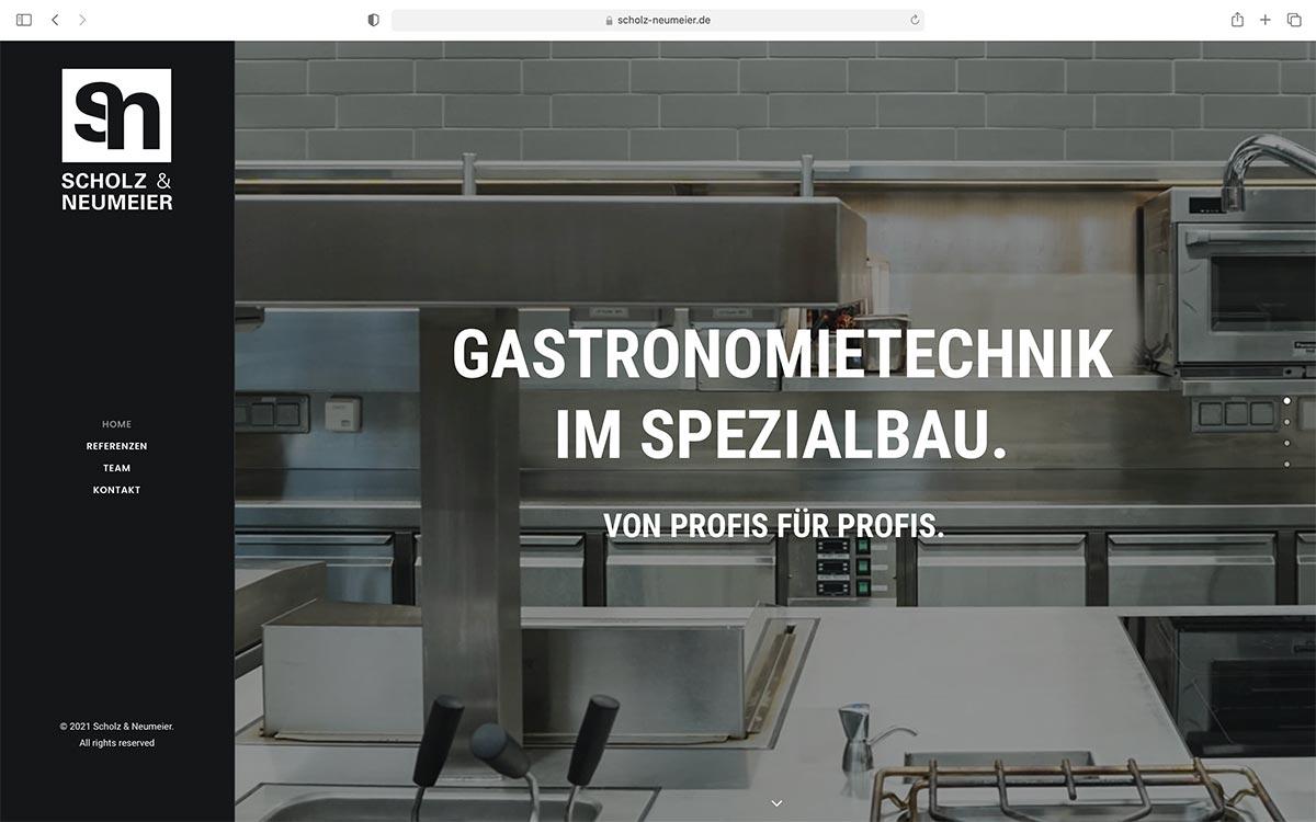 Webdesign Scholz & Neumeier |Jess Creation