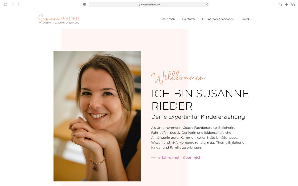 Webdesign Susanne Rieder |Referenz Jess Creation