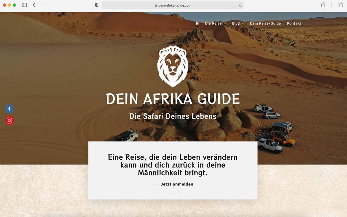 Webdesign Dein Afrika Guide